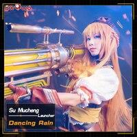 UWOWO танцы дождь косплэй King's костюм Avatar Су Mucheng Launcher Quan Чжи Гао Shou костюм для женщин