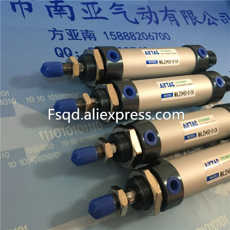 MAL25*125-S-U  MAL25*150-S-U  MAL25*175-S-U  MAL25*200-S-U  AIRTAC aluminum alloy mini-cylinder air cylinder MAL series mal32 675 u airtac aluminum alloy mini cylinder air cylinder pneumatic air tools mal series