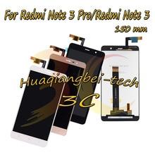 Лучшие 150 мм 5.5 »новых для Xiaomi Hongmi Redmi Note 3 Pro/Redmi Note 3/премьер полный ЖК-дисплей дисплей + Сенсорный экран планшета Ассамблеи