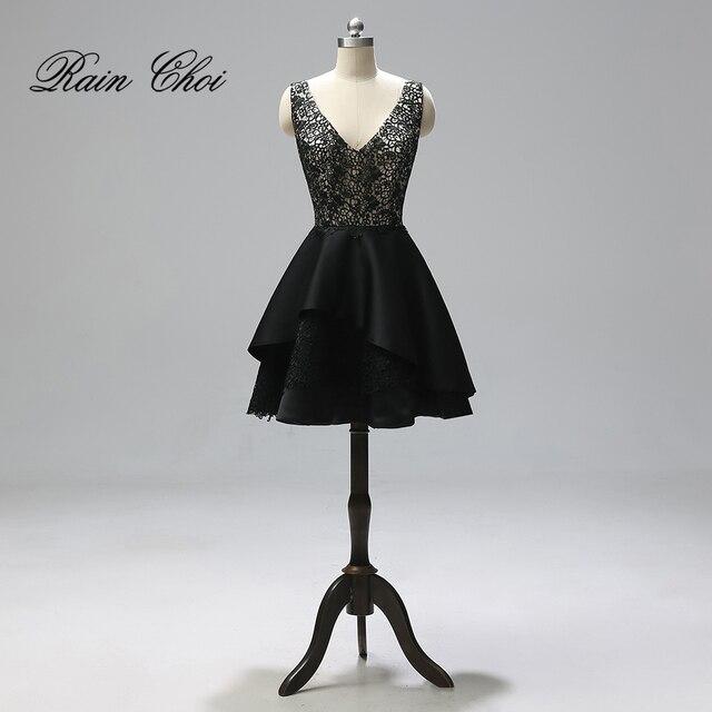 bf893ddf4 Corto cóctel vestidos 2019 elegante Formal vestido de fiesta noche Sexy  cóctel vestidos
