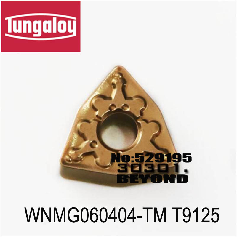WNMG060404 TM T9125 WNMG060408 TM T9125 turning insert original tungaloy tungsten carbide insert WNMG060404 WNMG060408