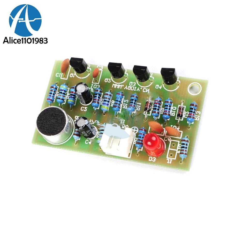 Diy Clap Acoustic Control Switch Module Suite Circuit Electronic Pcb Simple Without Project High Efficiency Frequency Controller Kit 5v For