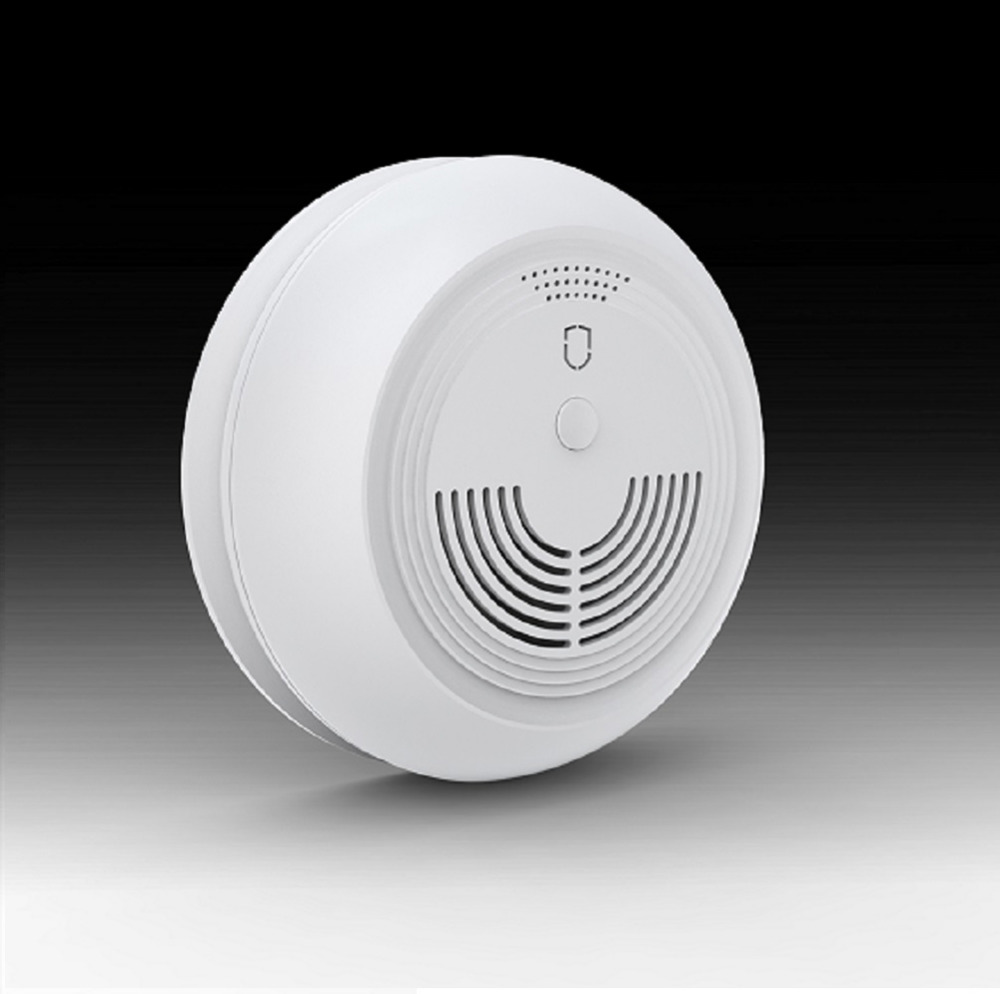 Wolf-Guard 433MHZ Wireless GSM SMS Temperature Smoke Sensor Fire Alarm Sensor Smoke Detector For Home House Office Security