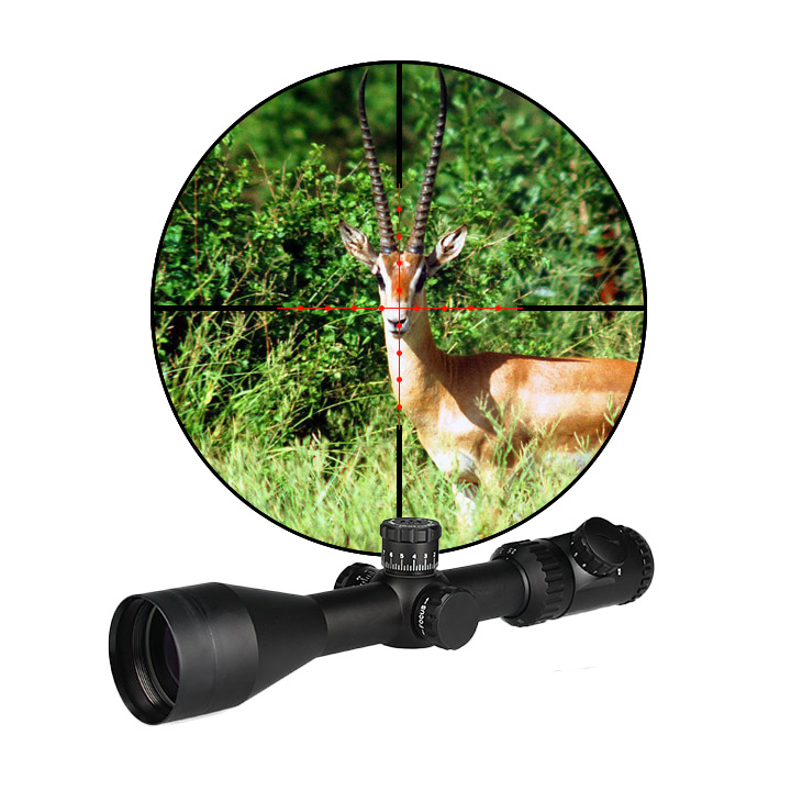 Quality Guarantee 2.5-10x50 Hunting Scope Riflescope Illuminated  Red 11 Positions MIL-DOT TACTICAL OPTICS SCOPE Gz10298