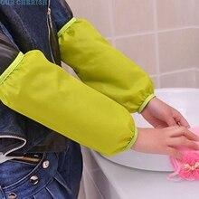Водонепроницаемый полиэстеровый материал противообрастающие водонепроницаемые нарукавники аксессуары для уборки дома Oct14