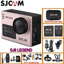 Original SJCAM SJ6 Legend Gyro Action Helmet Sports DV Camera Waterproof 4K NTK96660 16MP RAW FOV Dual-Screen Sport DVR