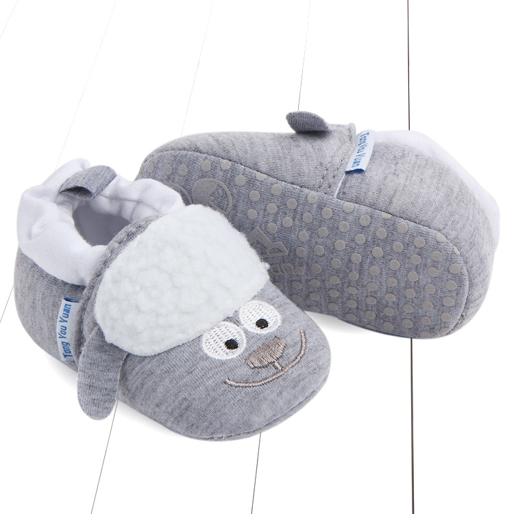 First Walkers Baby Shoes Cotton Anti-slip Booties Baby Girl Boy Shoes Animal Cartoon Newborn Slippers Footwear Booties Kids Gifts (44)