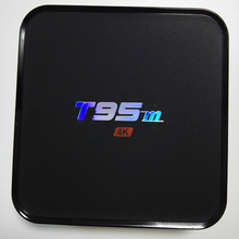 Android 5.1 tv box t95m avec KODI 16.0 Amlogic s905 Quad Core1GB/8 GB H.265 4 K lecteur multimédia