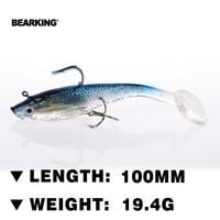 Bearking Hot LURE JXJ 15 10 Fishing Lure 4PCS 19 4g 100MM Soft Bait Carp Crankbait
