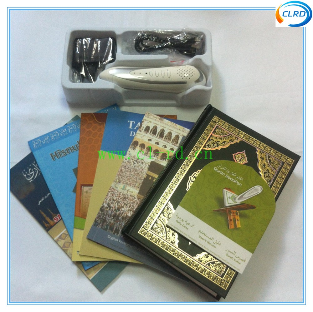 Free shipping islamic holy quran reading pen PQ15 with word by word voice  english arabic urdu translation