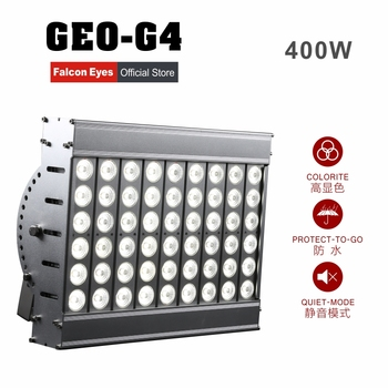 free shipping 400W Waterproof Giant LED Light Dimmable Continuous High CRI95 5600K GEO-G4 For Video Film Stage Advertisement
