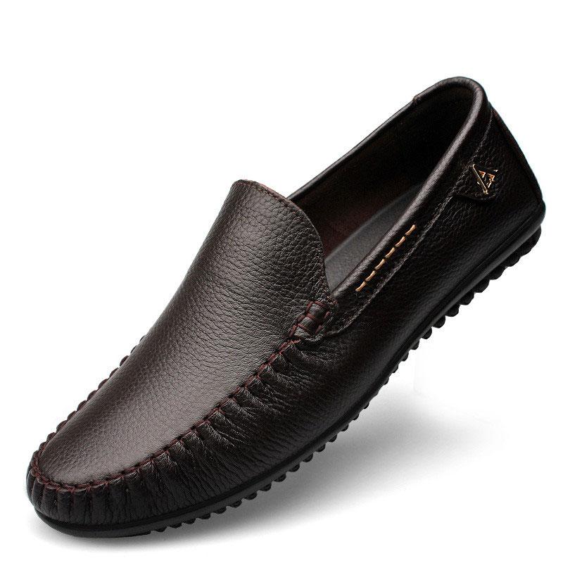Clax άνδρες φόρεμα παπούτσια μαύρο Loafers - Ανδρικά υποδήματα - Φωτογραφία 5
