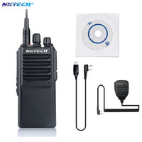 Professional NKTECH U 25W UHF 400 480MHz 25W Two Way Radio Transceiver Walkie Talkie With 4000mAh