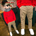 2016 New Arrival Boys Winter Pants Fashion Children Clothing Kids Boys Cotton Stretch Pants Baby Thick Panys 3 Color for Boys