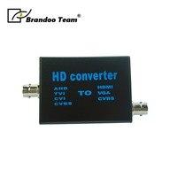 1 channel AHD HDMI converter, 4 different signal input, CVBS/VGA/HDMI output,video converter