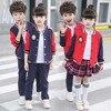 2018 Children Clothing Set Baby Boy Girl 2 Pcs Set Kids S Boy Shool Sports Suit