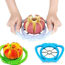 Moda HOT Grande Corer Slicer Fácil Cortador de Frutas Faca para A Apple Pear 91OX Útil(China)
