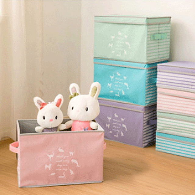 Diniwell Clothing Toy Storage Box Divider Clothes Boxes Sundries Organizer  Cosmetic Makeup Closet Container Can Be