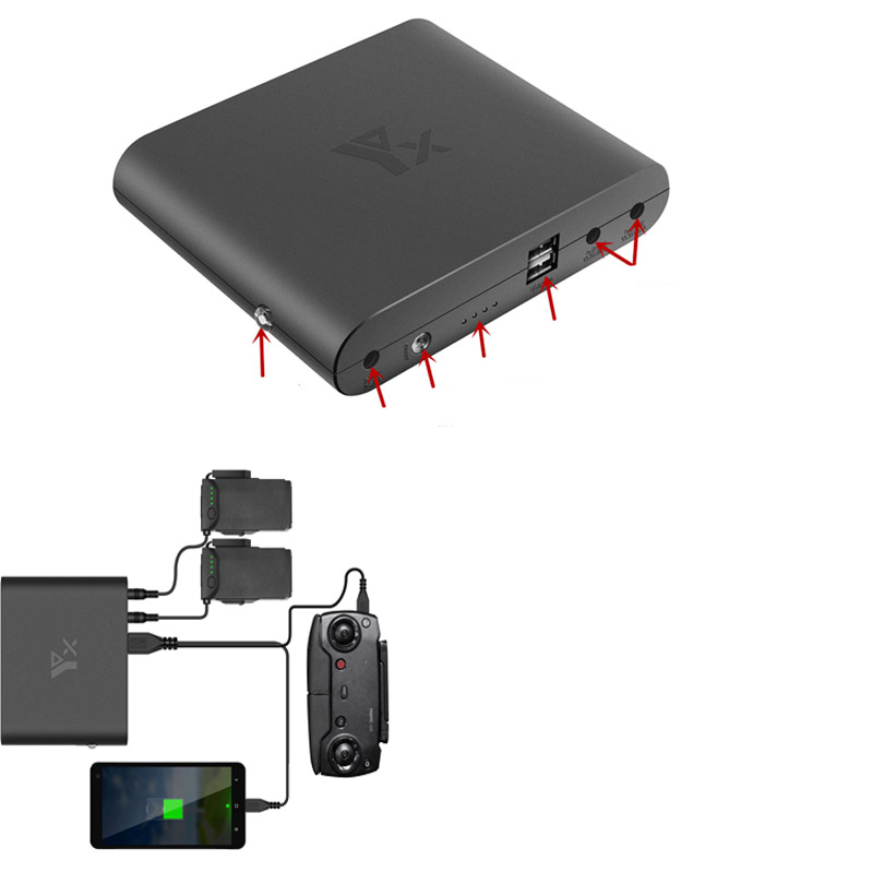 Power Bank 5000 MAh Drone Mobile Power Battery / Remote Controller Charging Bank For DJI Mavic Air Drone Accessories