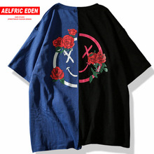 Eden Fashion Printed Flowered T-Shirt
