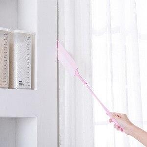 Image 3 - Sofa lücke duster Abnehmbare pinsel für staub Nicht woven staub pinsel für sofa bett möbel unterseite haushalts staub duster reinigung