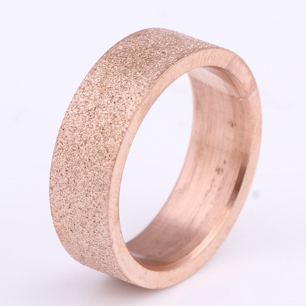 ჱWholesale Women Engagement Rings Fashion Rose Gold Men And Women ...