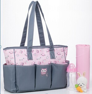 Owl Pattern Bolsa Maternidade Baby Bag Colorland Diaper For Outdoor Deluxe Ny Animal