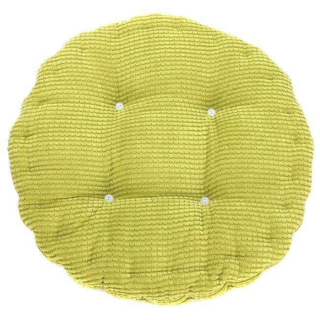 1 шт. 36*38 см, круглая клетчатая Подушка для стула, подушка для сиденья, толстый мягкий моющийся хлопковый цветной напольный коврик для домашнего декора 672712|Подушка|   | АлиЭкспресс