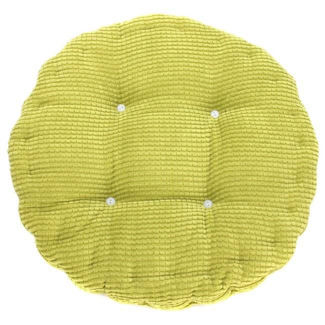 Free Shipping 40 40cm Chair Pad Cushion Pearl Cotton: Aliexpress.com : Buy 1pc 36*38cm Round Shape Plaid Chair