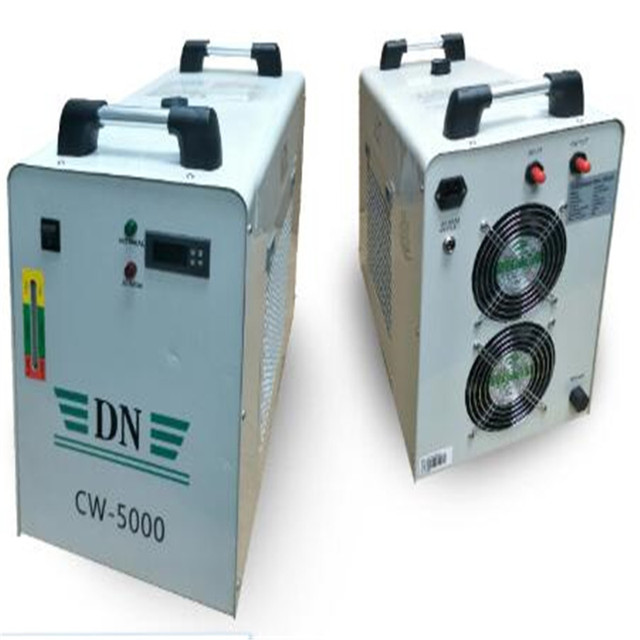 CW 5000 Industrial Water Chiller for Single 100W CO2 Laser Tube Cooling, 0.5HP, AC 1P 220V 50Hz