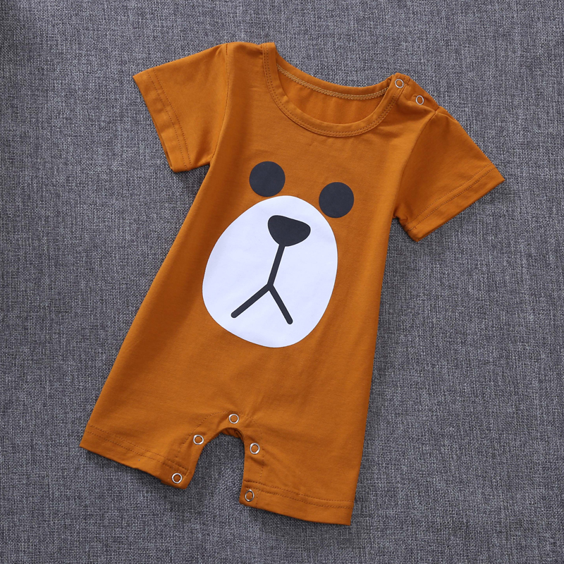 baby Pajamas One-piece Infantil Kids Boys Girl Pijama Pajamas Summer Leisurewear Jumpsuits bebes sleewear clothing 0 to 3 months ...