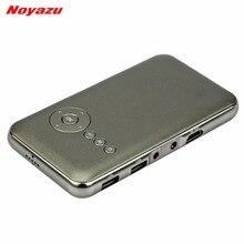 NOYAZU 1500Lumens DLP Mini Projector Bluetooth 4.0 Android 4.4 Smart Portable Projector Pocket Projector LED Beamer
