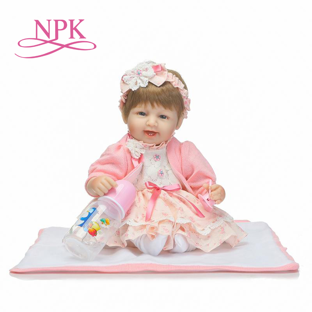 NPK reborn baby dolls soft real gentle touch lovely premie baby doll realistic bebes reborn liflike