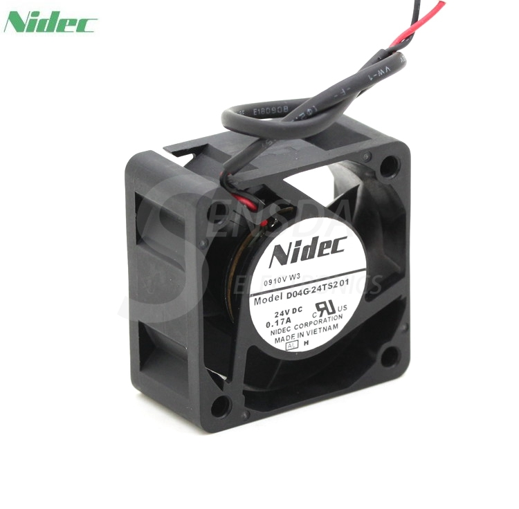NIDEC D04G-24TS2 01 24V 0.17A 4CM 4020 40mm inverter silent fan