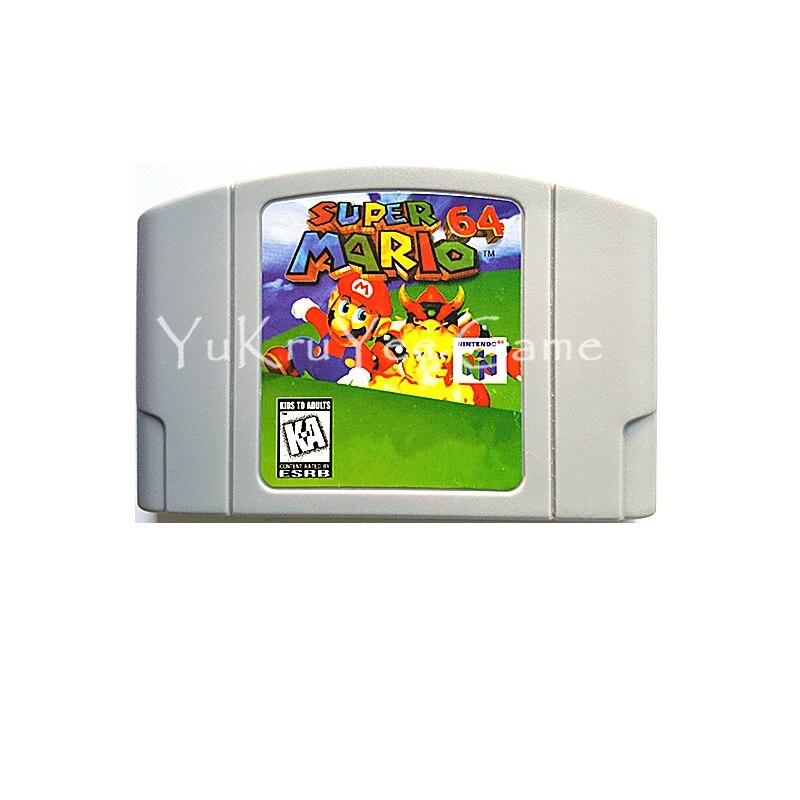 SuperMario 64 Video Game cartucho tarjeta para 64 Bit consola sistema inglés ee.uu. versión NTSC N31