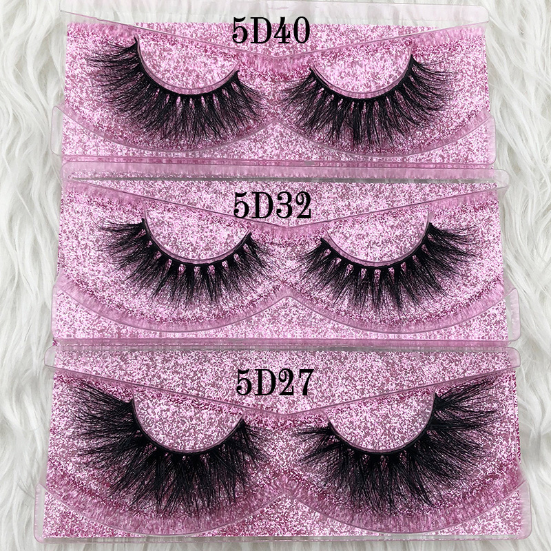 Mikiwi 5D Mink Eyelashes GB Popular Long Thick 3d Mink Lashes 50 Styles UK Mua Rose Gold Case Volume 3d Mink Lashes