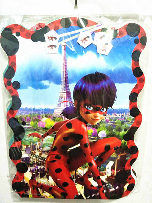 detail feedback questions about 40 29cm cartoon miraculous ladybug