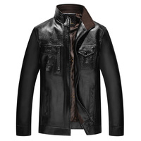 TG6063Cheap Wholesale 2016 New The Spring And Autumn Period And The Men S PU Leather Collar