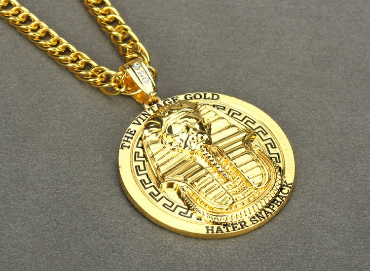 European american popular egypt style vintage necklace retro pharaoh european american popular egypt style vintage necklace retro pharaoh pendant link chain cool men necklaces zinc alloy long in pendant necklaces from aloadofball Choice Image