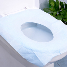 12PCS/SET Real Limited Potty Bathroom Toilet Seat Cover Disposable Mat Travel 100% Waterproof Monolithic Bacteria Dress