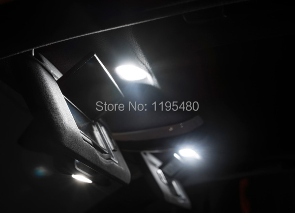 6 шт. x Ксеноновые Белый светодиод Интерьер Свет Комплект для Acura RSX 2002-2006