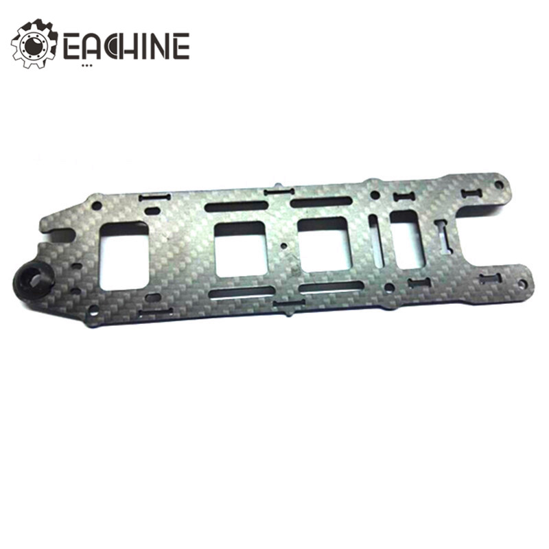 High Quality Eachine Wizard X220 Racing Drone Spare Part Upper Plate Top Plate Carbon Fiber For RC Model 2pcs eachine falcon 250 carbon fiber arm motor mount spare parts for mini drone quadcopter rc helicopter multicopter part