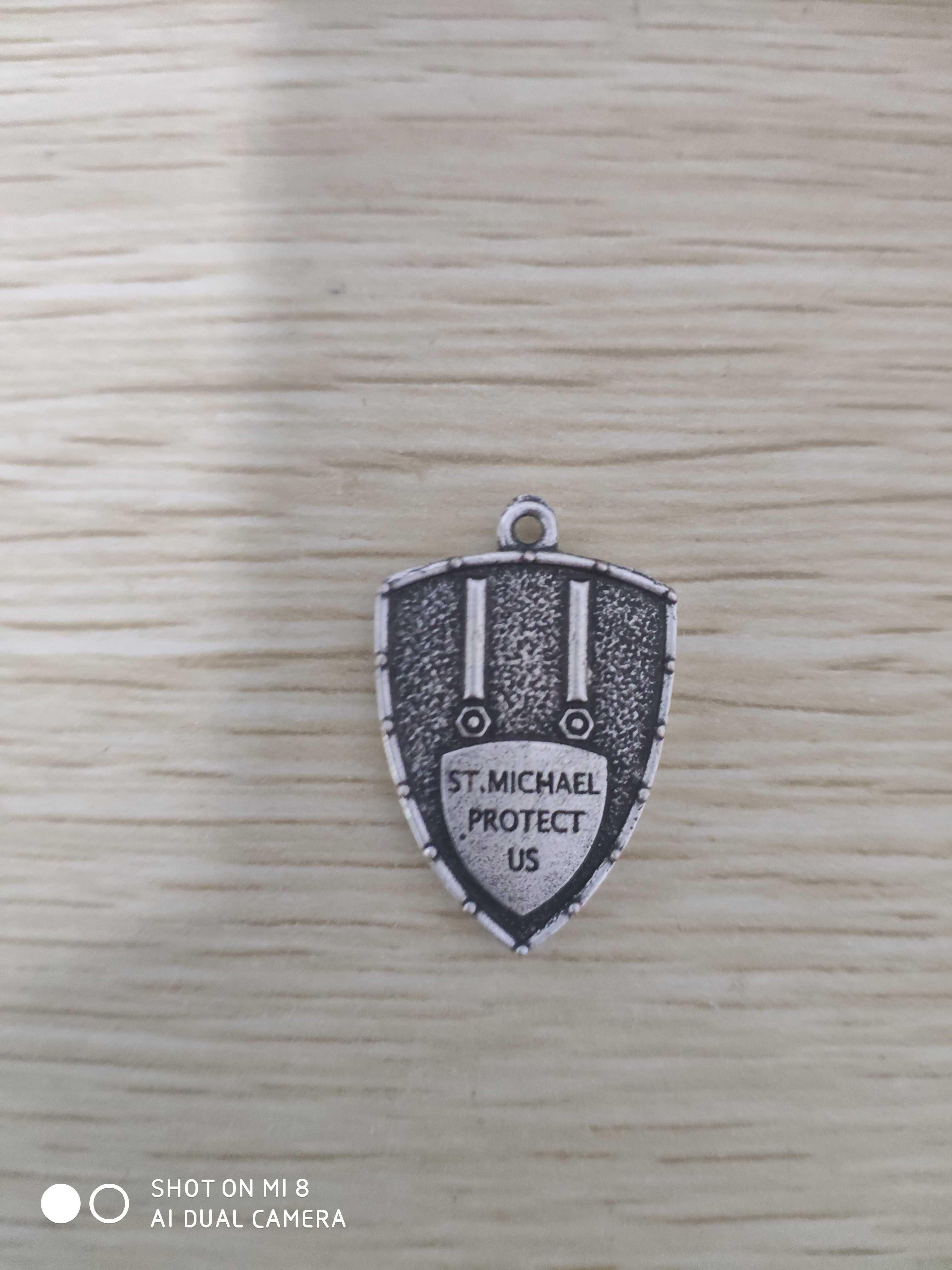 1 pc świętego michała archanioła naszyjnik Amulet talizman naszyjnik duch biżuteria