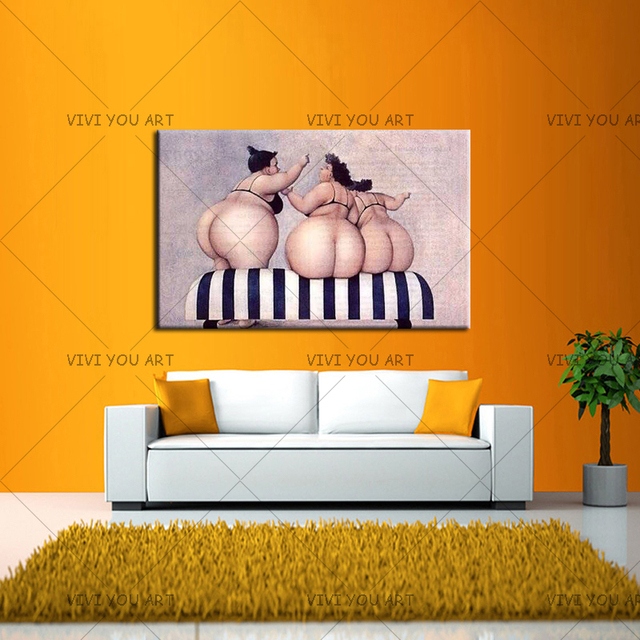 100 Handmade Large Naked Sexy Girls Oil Paintings Wall Art Living