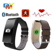 Neue Uwatch U20 BT 4,0 zwei in einem smart Armbänder Umini mit Schlaf-monitor Lederriemen Smartwatch für IOS Android Smartphone