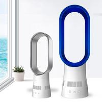 16 дюймов Овальный Ультра тихий дистанционного синхронизации Bladeless вентилятор Настольный вентилятор поток воздуха Вентилятор охлаждения 360
