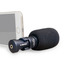 Micrófono para iPhone Smartphone, Ulanzi Cómica CVM-VS08 Direccional Micrófono De Grabación para HuaWei Móvil YouTube Video Vlogging
