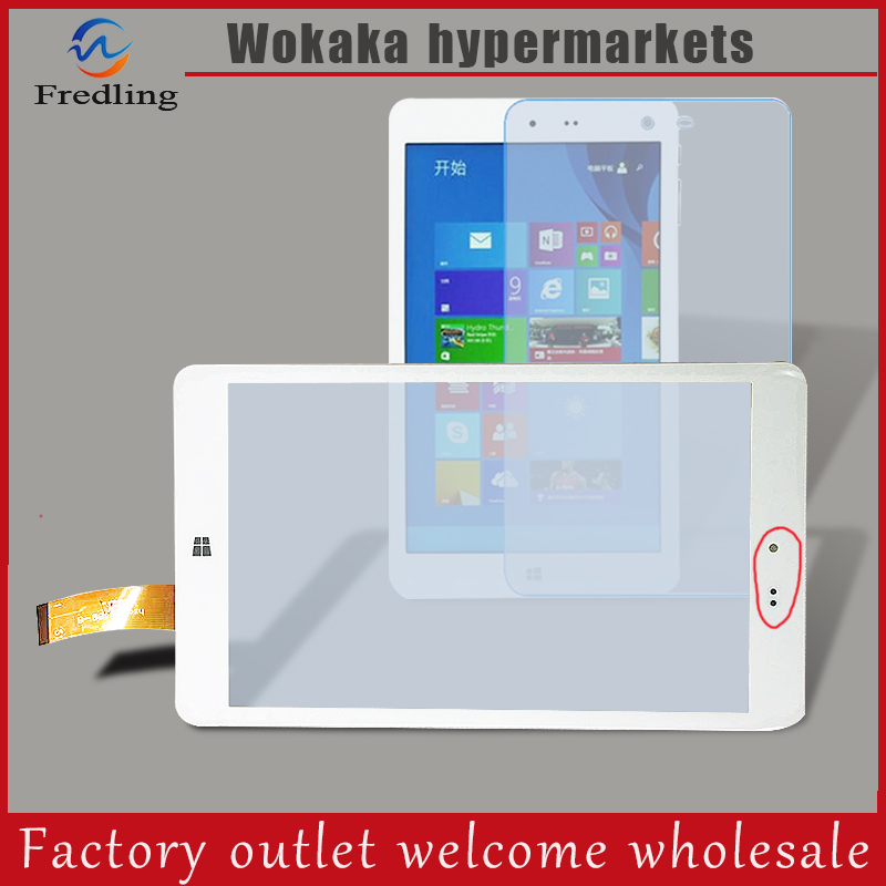 New HSCTP-489-8 For 8'' Chuwi Hi8 Intel Z3736F Vi8 CW1507 CW1512 Z3735F Quad Core Touch Screen panel digitizer glass film favourite 1245 1w