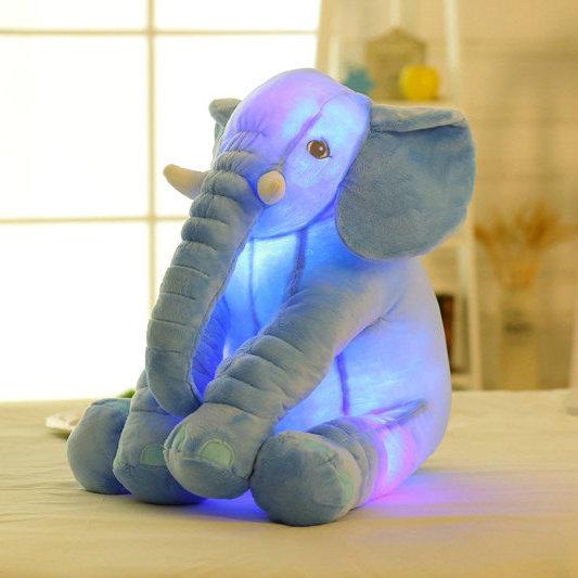 Luminous Big Elephant Soft Plush Stuffed Toy