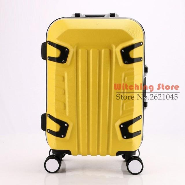 20 INCH 202428# new wear resistant fine rod case student travel to check The universal wheel #EC FREE SHIPPING